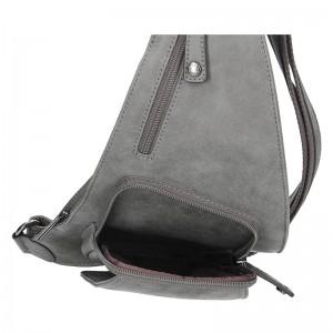 Pánská taška přes rameno Hexagona 784638 - šedá