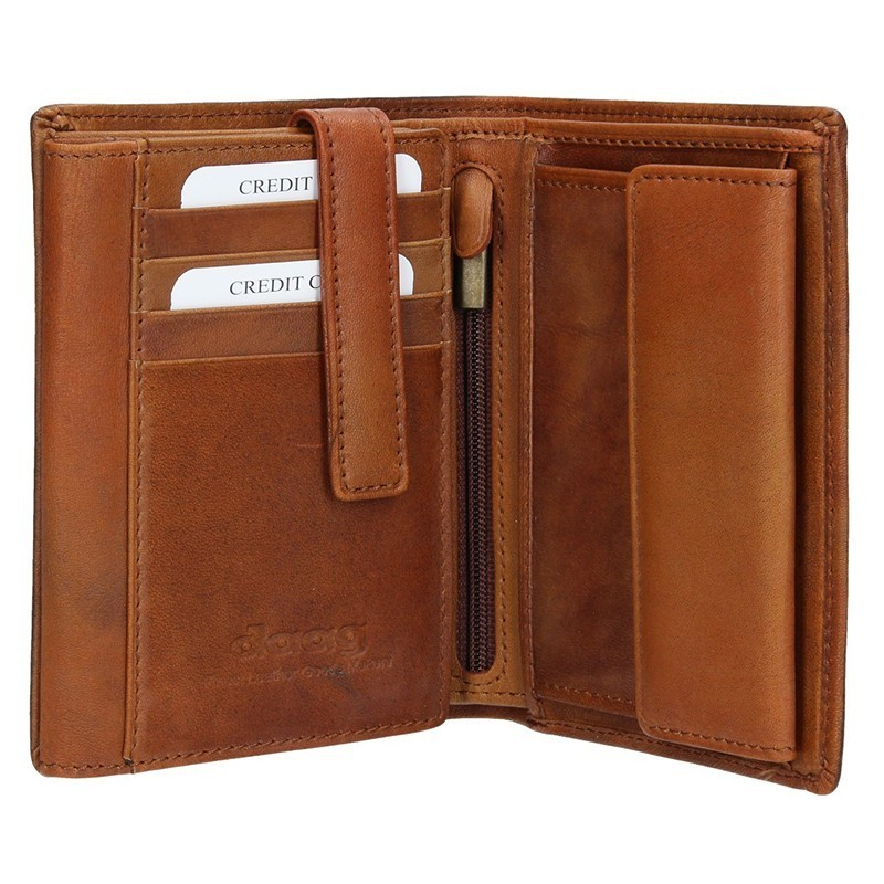 Pánská kožená peněženka Daag P06 - hnědá