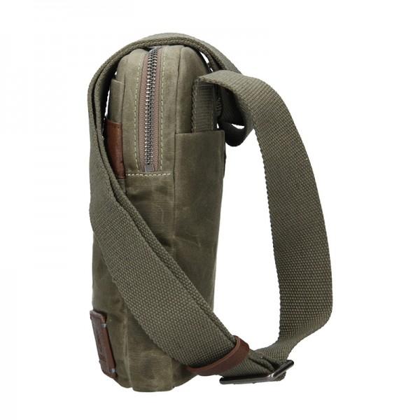 Pánská taška přes rameno Lerros Kevin - olivová