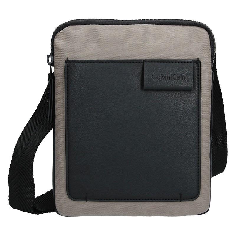 Pánská taška přes rameno Calvin Klein Vincent - černo-béžová
