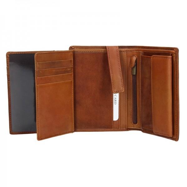 Pánská kožená peněženka Daag P07 - hnědá