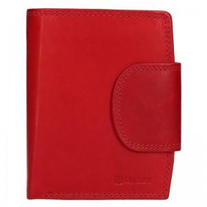 Pánská kožená peněženka Diviley Luiss - červená