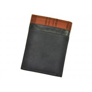 Pánská kožená peněženka Harvey Miller Morro - hnědá