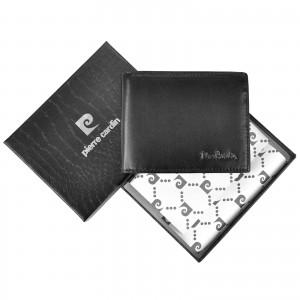 Pánská kožená peněženka Pierre Cardin Roman - černá