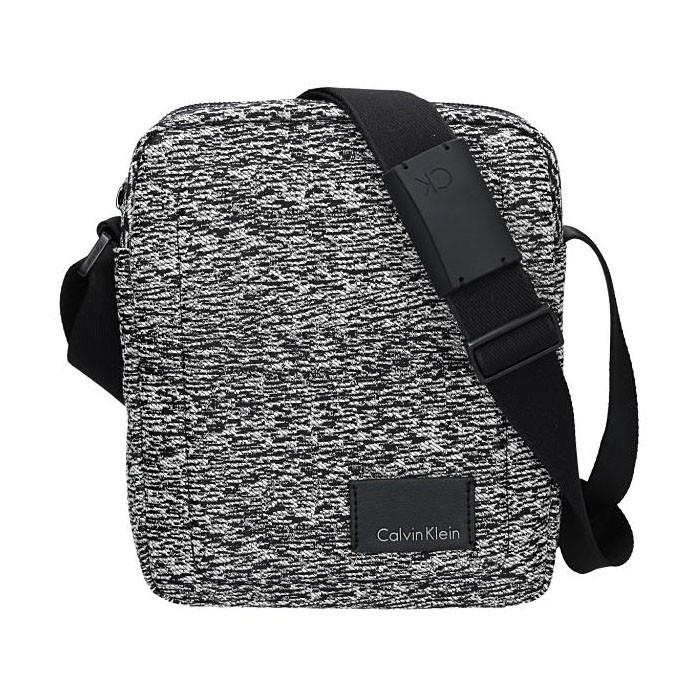 Pánská taška přes rameno Calvin Klein Mercier - černo-bílá d34e78f74ad