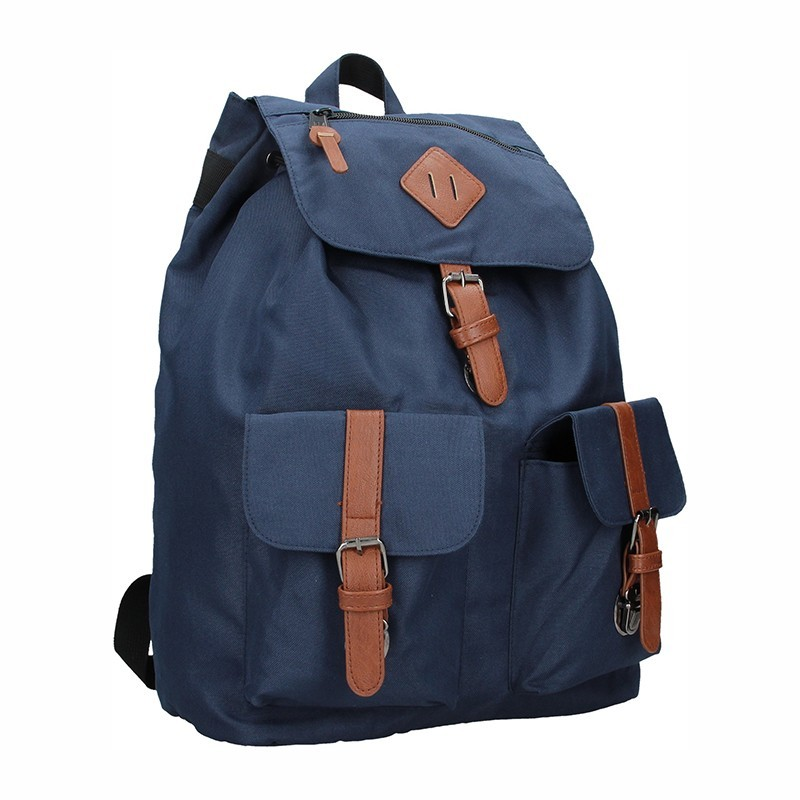 Pánský trendy batoh Enrico Benetti Juan - modrá