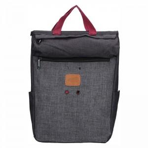 Trendy batoh New Rebels Fly - šedo-černá