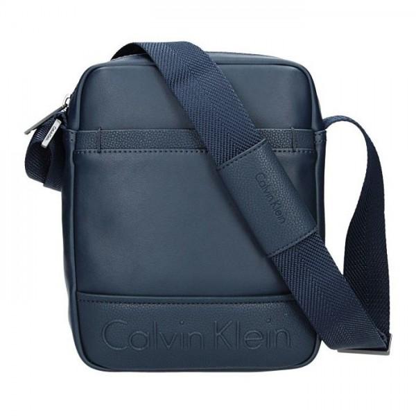 Pánská taška přes rameno Calvin Klein Parker - modrá