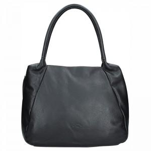 97b13b38a36 Elegantní dámská kožená kabelka Katana Olena - černá