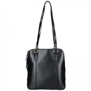 Dámská kožená batůžko kabelka Katana Martina - hnědá