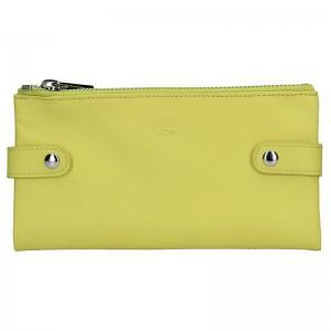 Dámská kožená peněženka Katana Wendy - žlutá