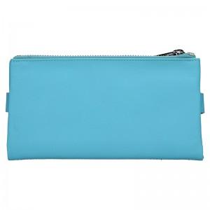 Dámská kožená peněženka Katana Wendy - modrá