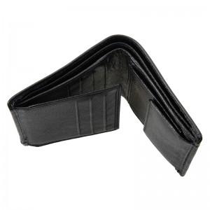 Pánská kožená peněženka DD Anekta Ivan - černá