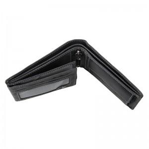 Pánská kožená peněženka DD Anekta Patrick - černá