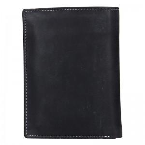 Pánská kožená peněženka DD Anekta Marek - černá