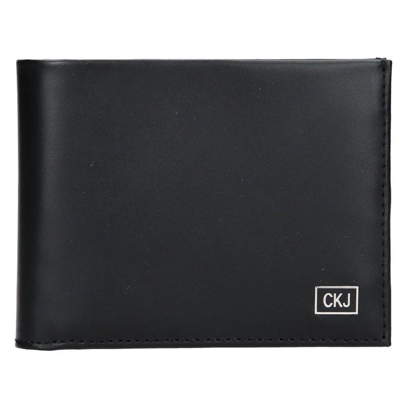 Pánská kožená peněženka Calvin Klein Levin - černá