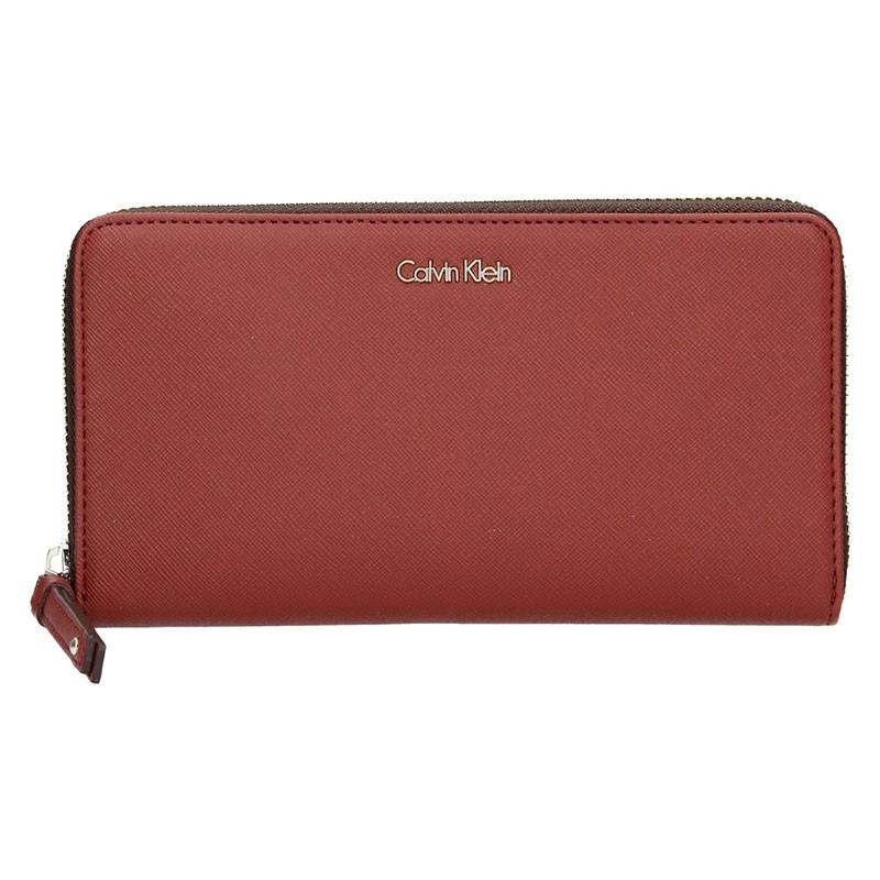 Dámská peněženka Calvin Klein Mirabel - hnědá