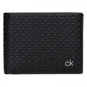 Pánská kožená peněženka Calvin Klein Ralf - černá