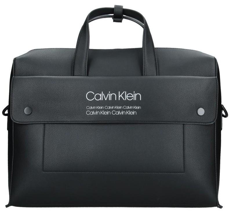 Pánská taška přes rameno Calvin Klein Pablo - černá d39393a97d4