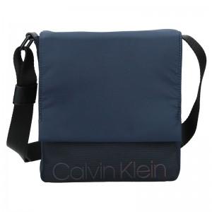 Pánská taška přes rameno Calvin Klein Apolon - modrá