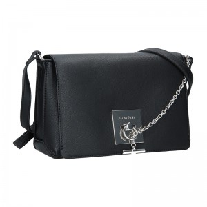 Dámská crossbody kabelka Calvin Klein Leopolda - černá