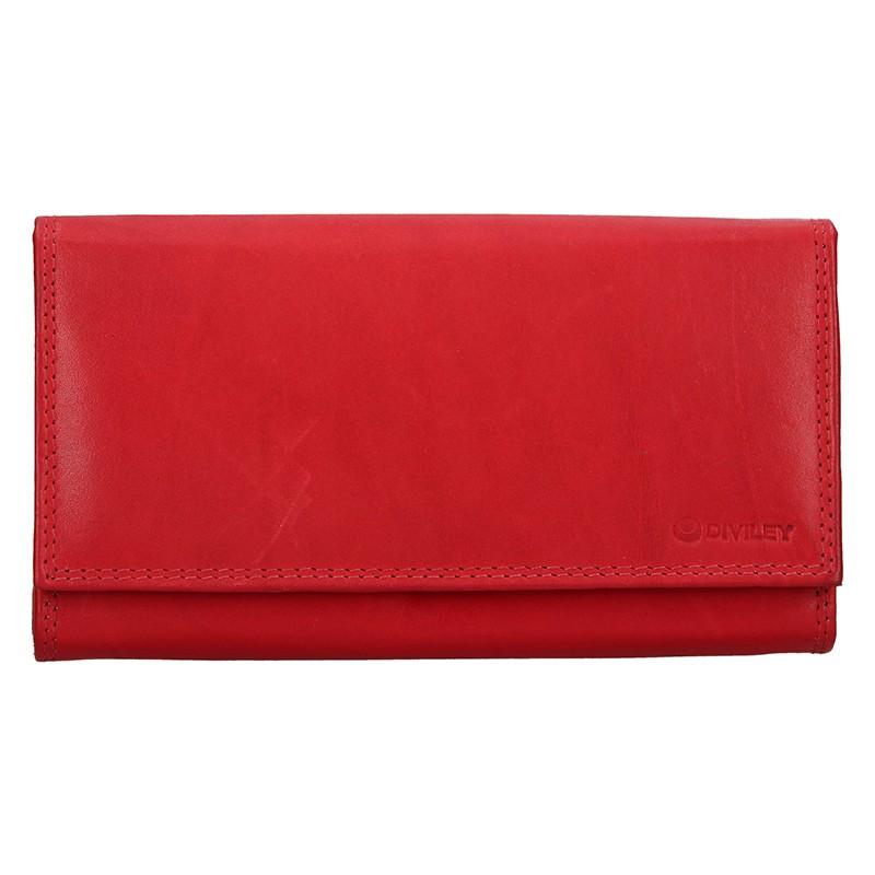 d86d8ba4a4 Dámska kožená peňaženka Diviley Lorre - červená