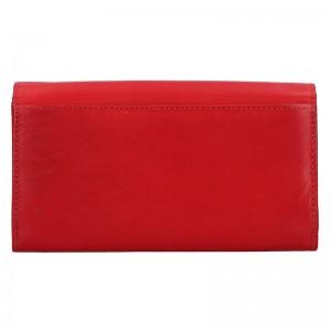 Dámská kožená peněženka Diviley Emma - hnědá