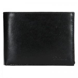 Pánská kožená peněženka Diviley Ross - černá
