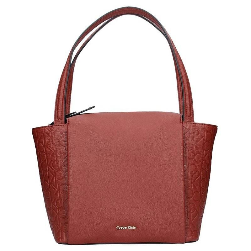 Dámská kabelka Calvin Klein Ilon - vínová