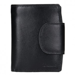 Pánská kožená peněženka Diviley Mars - černá