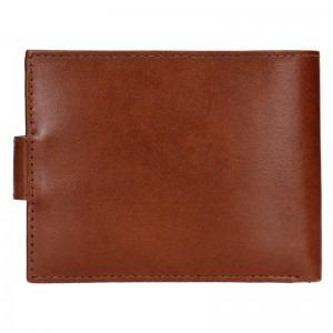 Pánská kožená peněženka Diviley Loris - hnědá