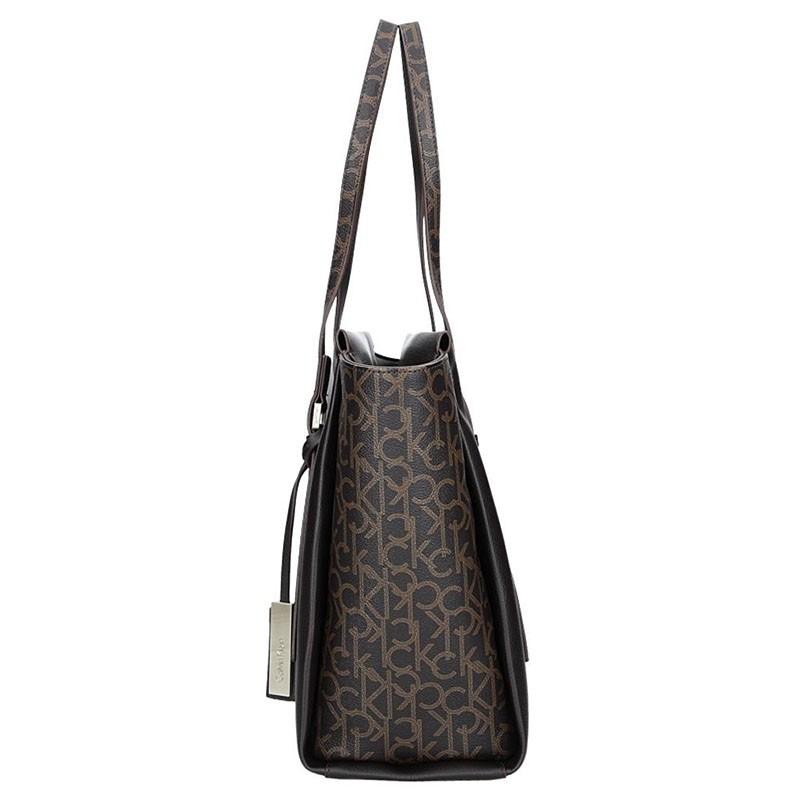 Dámská kabelka Calvin Klein Amanda - hnědá