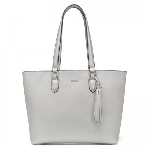 Dámska kabelka Tamaris Maxima Shopping - stříbrná