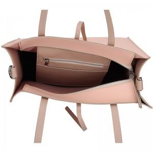 Dámská kožená kabelka Facebag Elmo - růžová