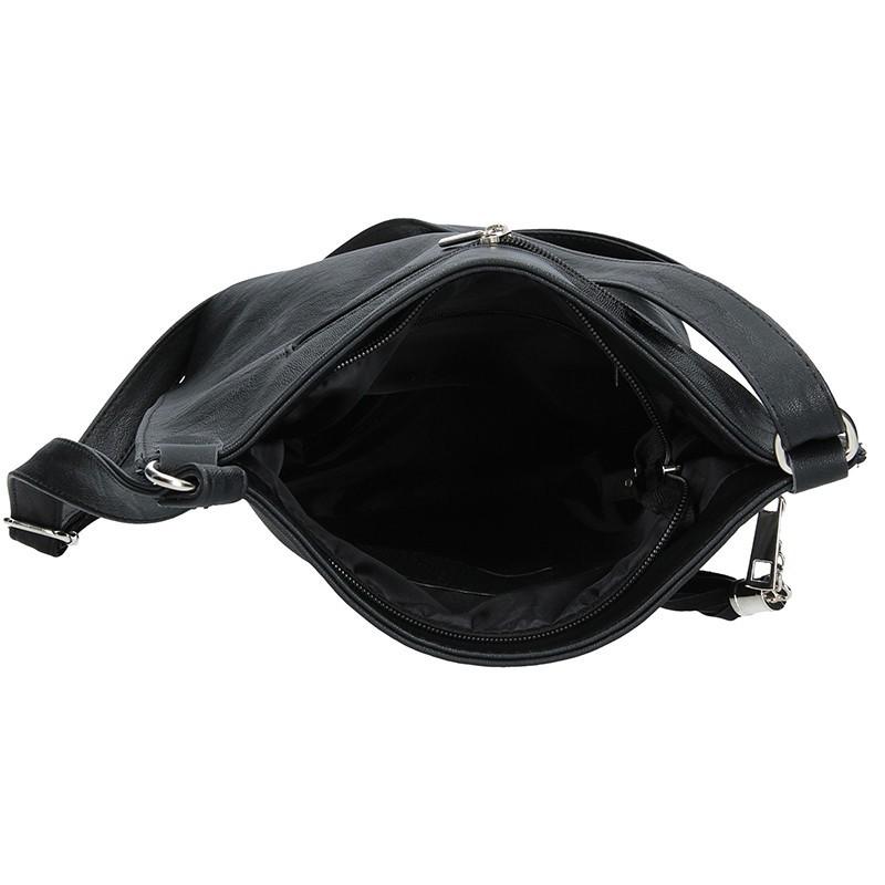 Dámská crossbody kabelka SendiDesign Pavla - černá