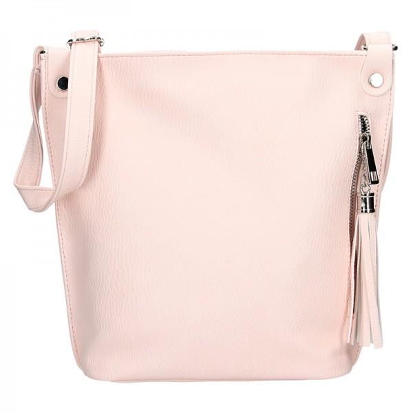 Dámská crossbody kabelka SendiDesign Pavla - růžová