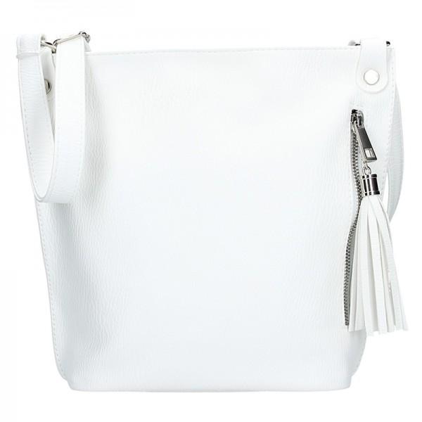 Dámská crossbody kabelka SendiDesign Pavla - bílá