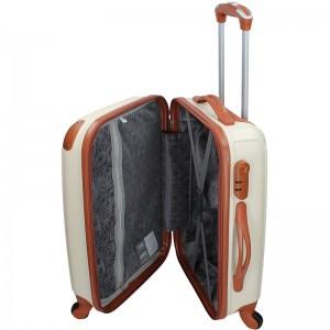 Cestovní kufr Madisson Apolen S - béžovo-hnědá