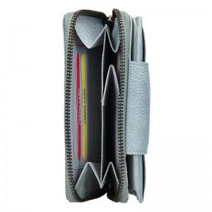 Dámská kožená peněženka Lagen Agáta - světle modrá