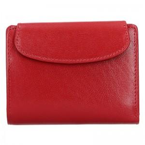 Dámská kožená peněženka Lagen Alberta - červená