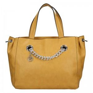Dámská kabelka Marina Galanti Emilia - žlutá