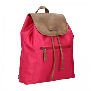 Moderní batoh Enrico Benetti Norra - růžovo-hnědá