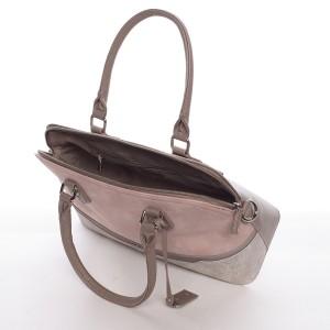 Dámská kabelka David Jones Elena - růžová