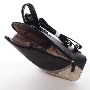 Módní dámský batůžek David Jones Renata - černá