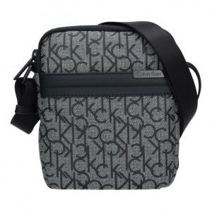 Pánská taška přes rameno Calvin Klein Logic - šedá