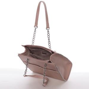 Dámská kabelka David Jones Iva - růžová