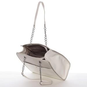 Dámská kabelka David Jones Iva - krémová
