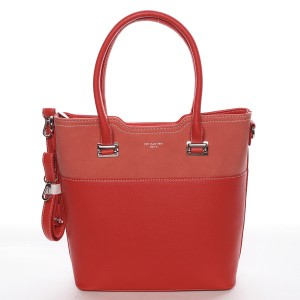 Dámská kabelka David Jones Mirka - červená