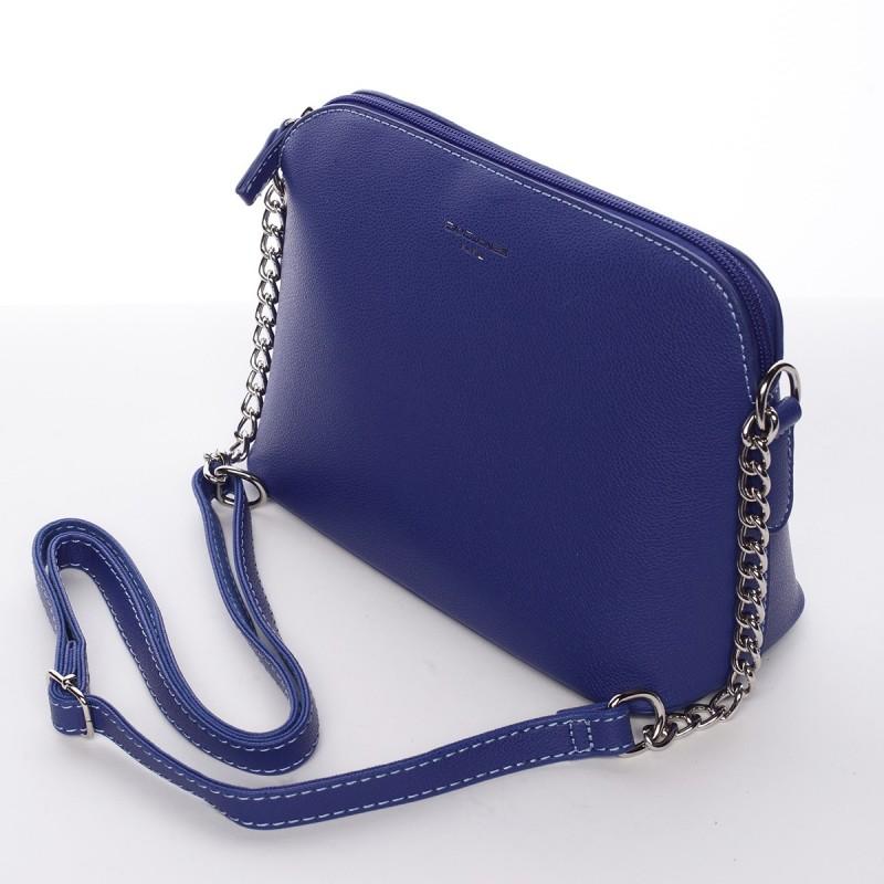 Dámská crossbody kabelka David Jones Blanka - modrá
