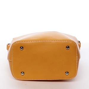 Dámská crossbody kabelka David Jones Summer - žlutá
